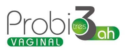 Logotipo Probio3 vaginal con ácido hialurónico de laboratorios tegor