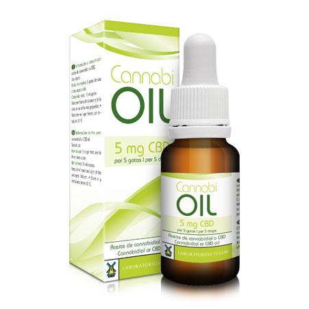 Estuche y bote de Cannabi-Oil