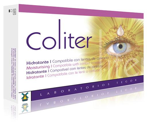 Estuche de Coliter limpieza de ojos