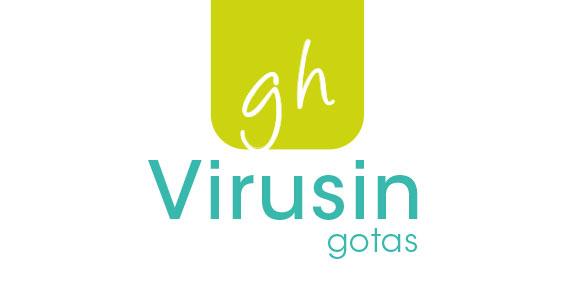 Logotipo de Virusín Gotas