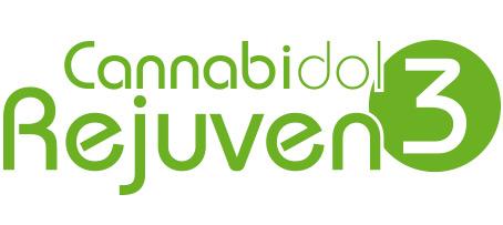 Logotipo del Cannabidol Rejuven 3 de laboratorios Tegor