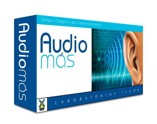 Imagen del estuche Audio Más de laboratorios Tegor